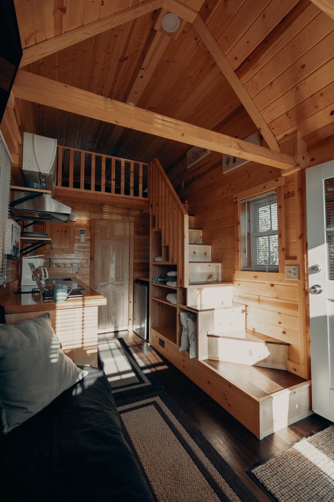 Tiny House Treppe